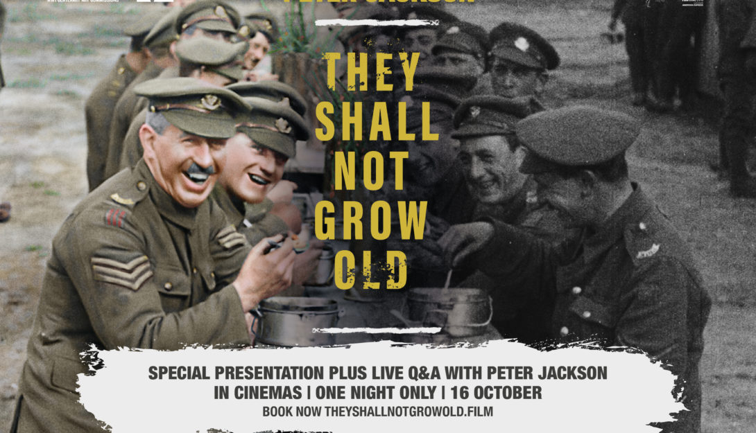 They Shall Not Grow Old (cert TBC) (2018) 90 mins