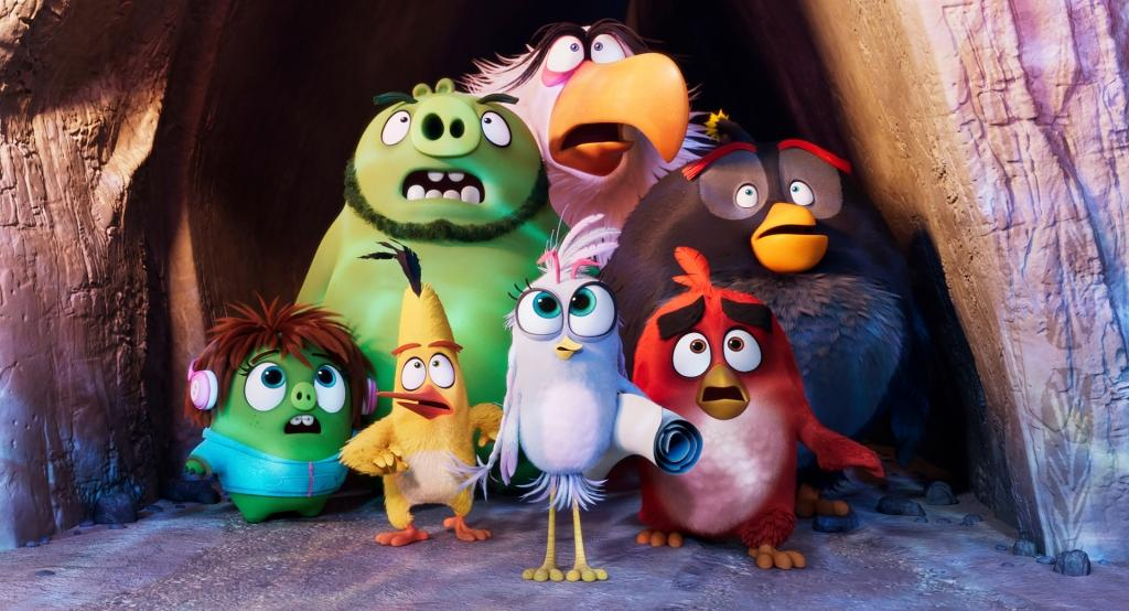 The Angry Birds Movie 2 (PG) 2